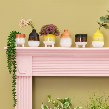 Oorbellen roze kant