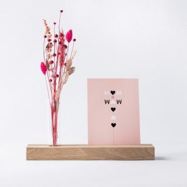 Oorbellen marmereffect + kleuren