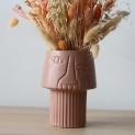 Oorstekers tulp roze